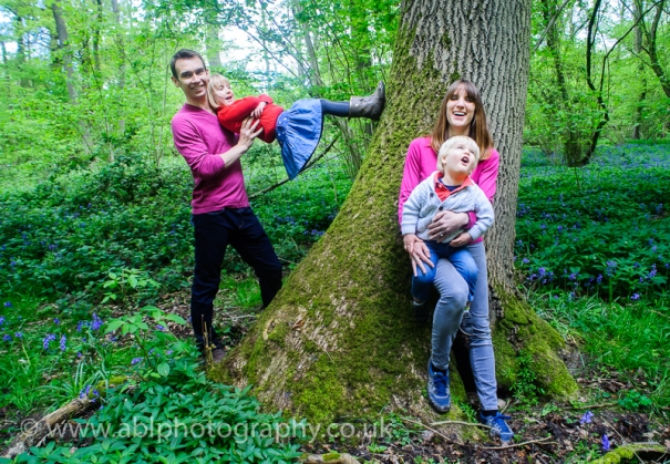 Bluebell photo-shoot by ABL Photography- family fun