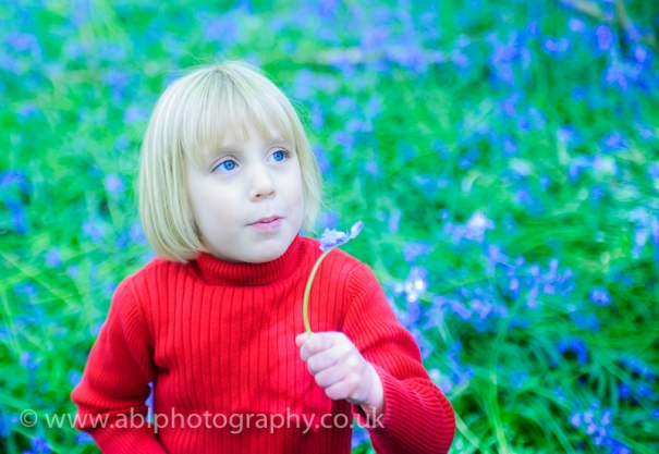 Bluebell photo-shoot by ABL Photography- girl in red-8204