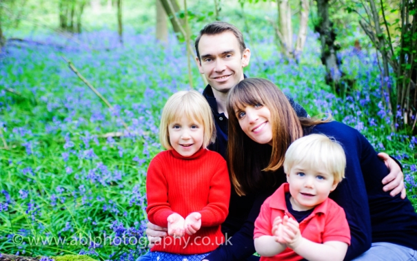 bluebells by ABL Photography-family